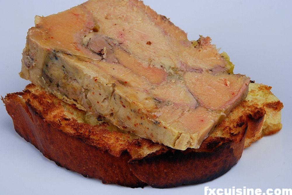 foie gras terrine chargrilled like in sauternes. Black Bedroom Furniture Sets. Home Design Ideas