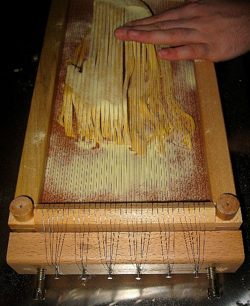 Super My New Italian Chitarra Pasta Cutter Caraccident5 Cool Chair Designs And Ideas Caraccident5Info