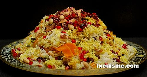 Recipe for jeweled rice