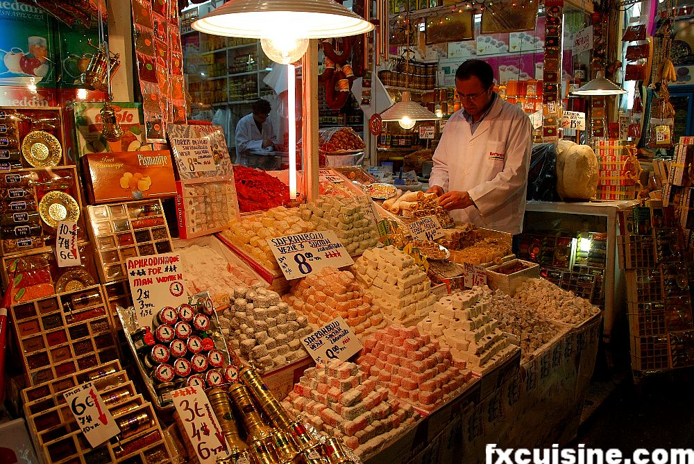 Buying Spices in Istanbul's Egyptian Bazaar