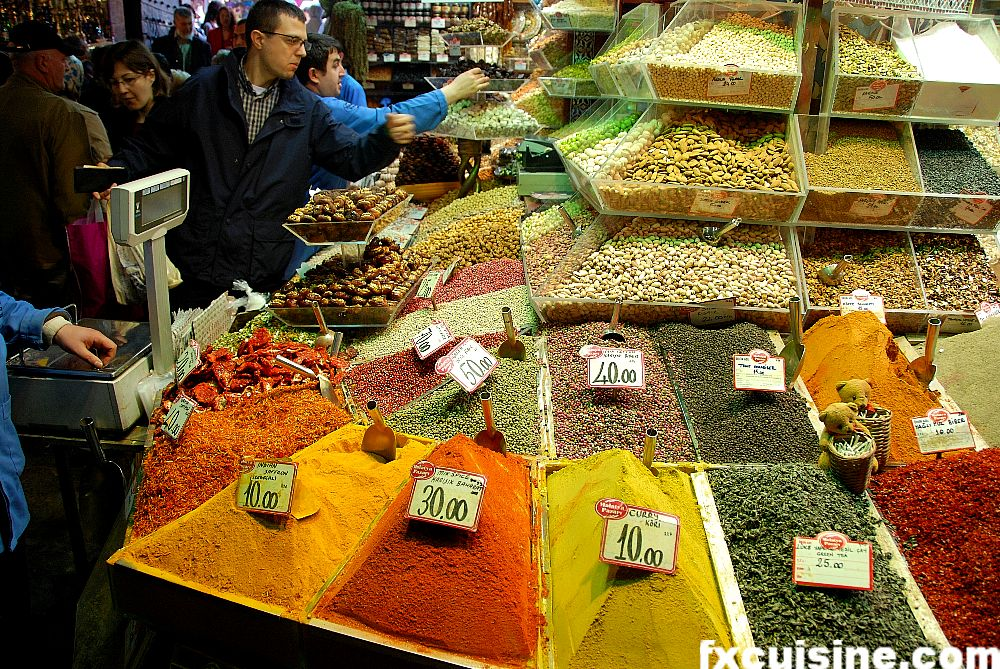 Buying Spices in Istanbuls Egyptian Bazaar
